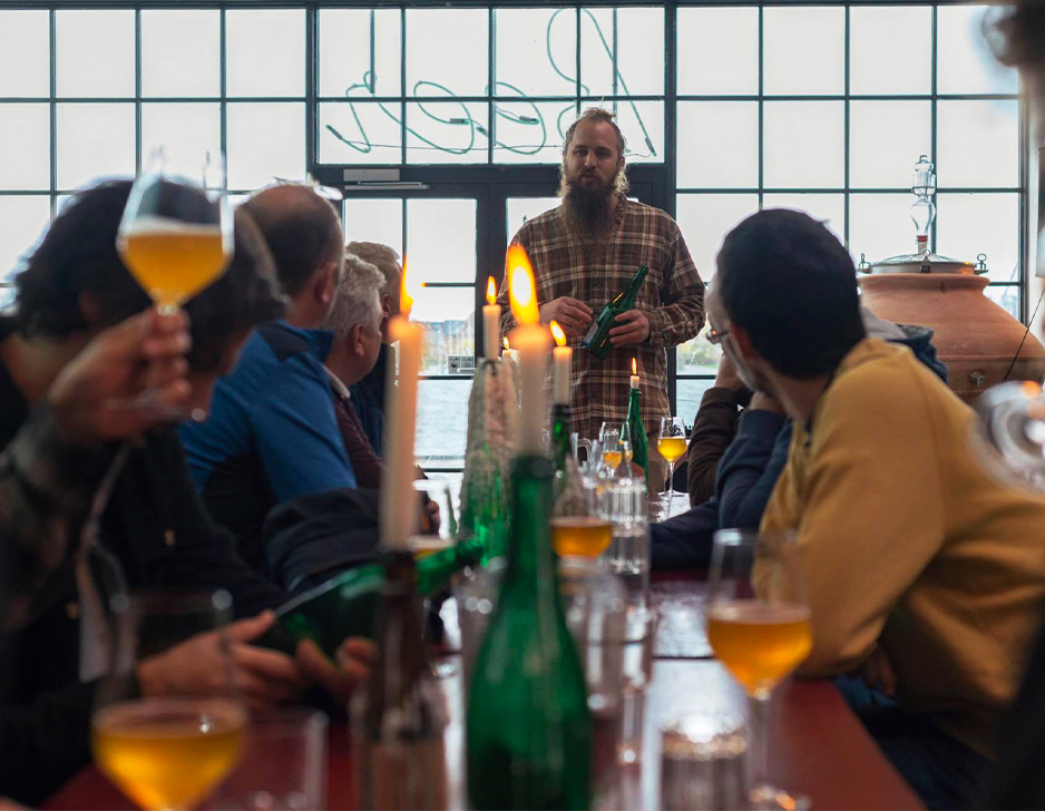 Ølsmagning hos Mikkeller Baghaven
