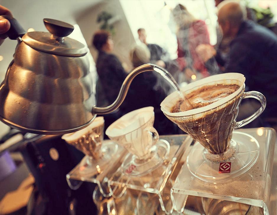 Kaffesmagning hos BRYG Coffee House