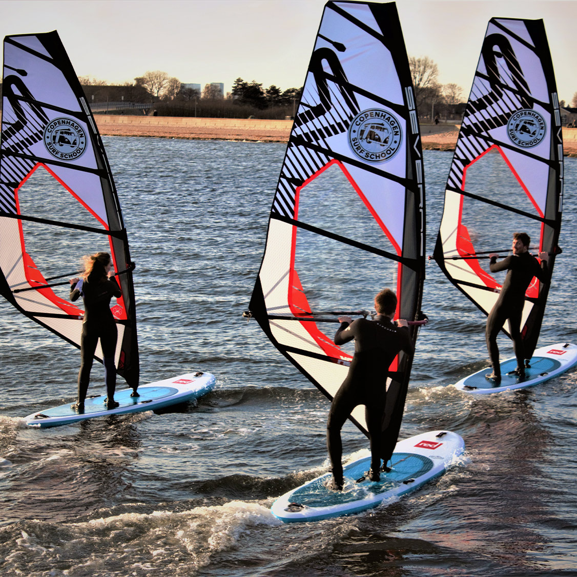 Windsurf kursus hos Copenhagen Surf School
