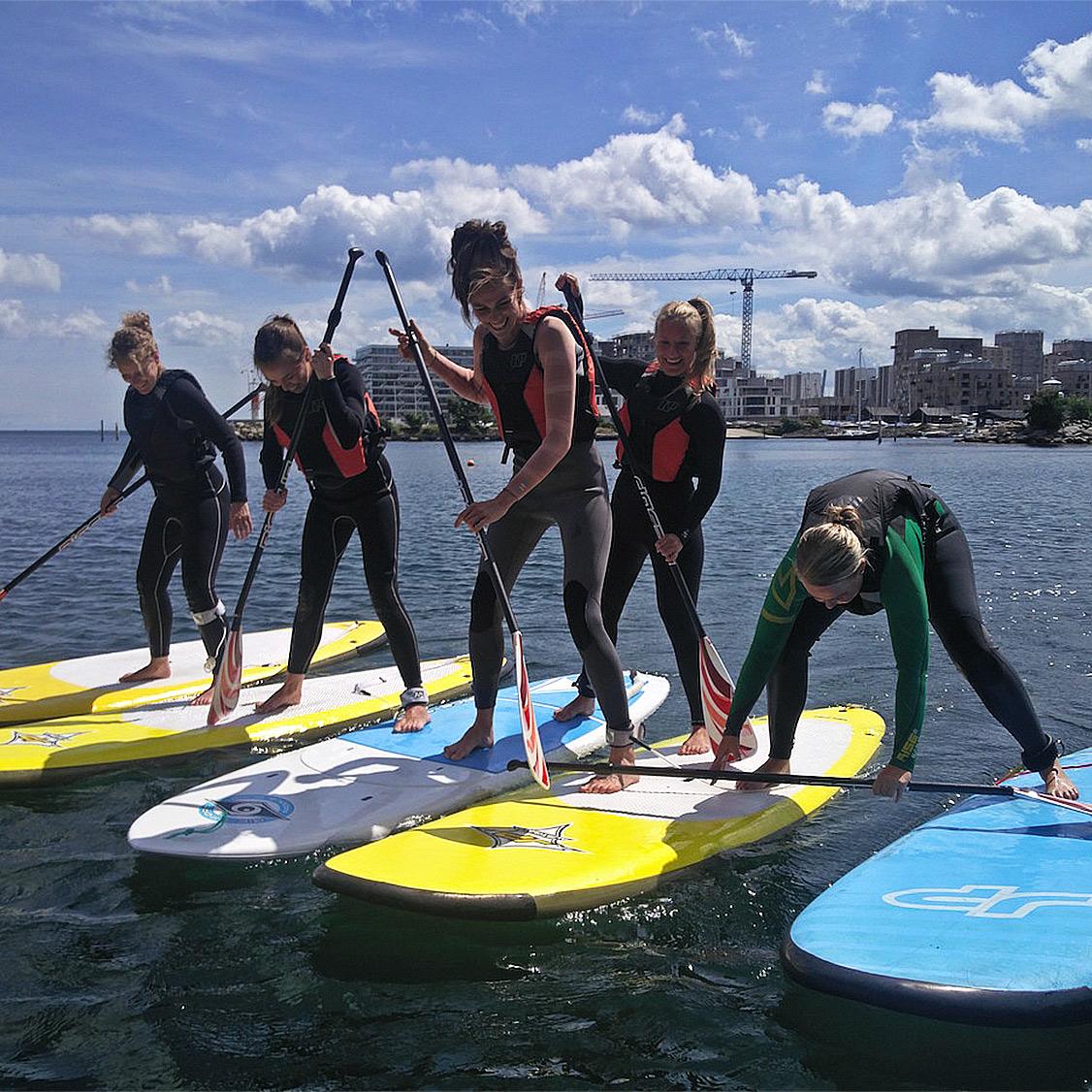 SUP kursus med Surf Agency