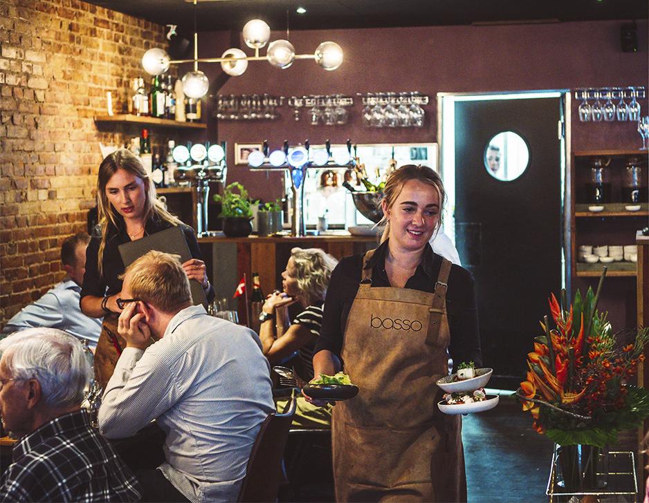 Social Dining på Restaurant Basso