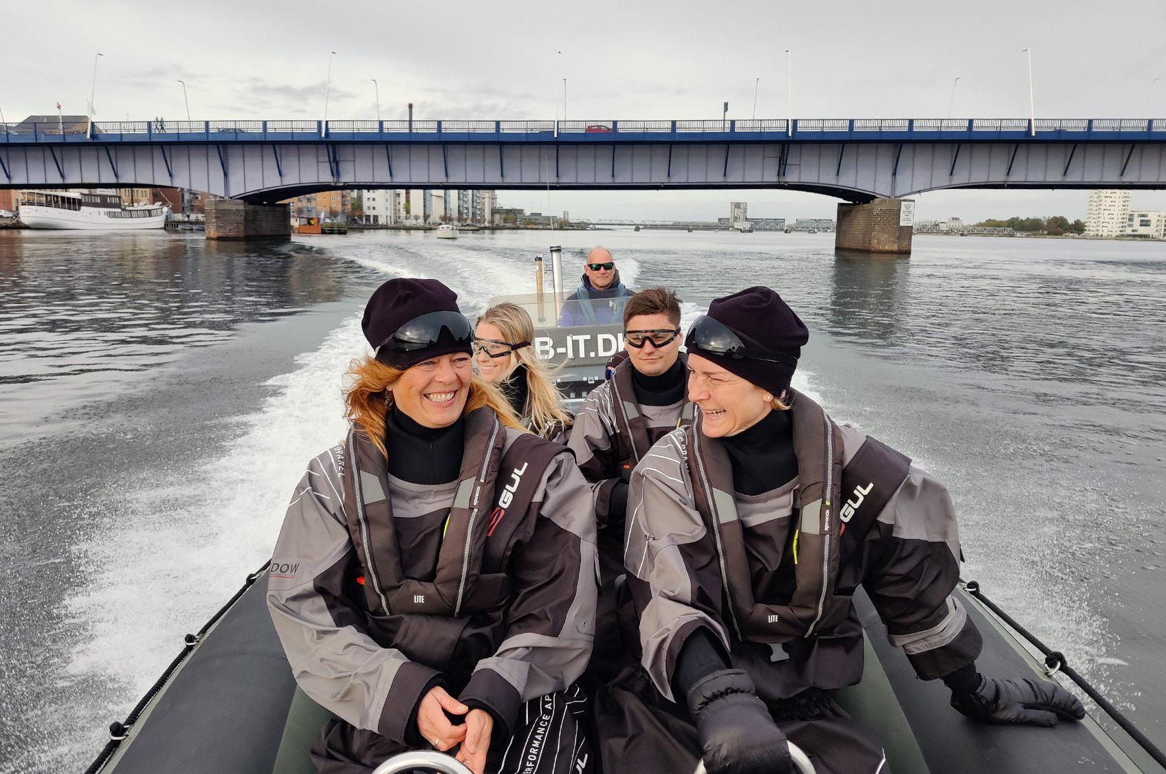 Oplevelsestur på Limfjorden med RIB-IT