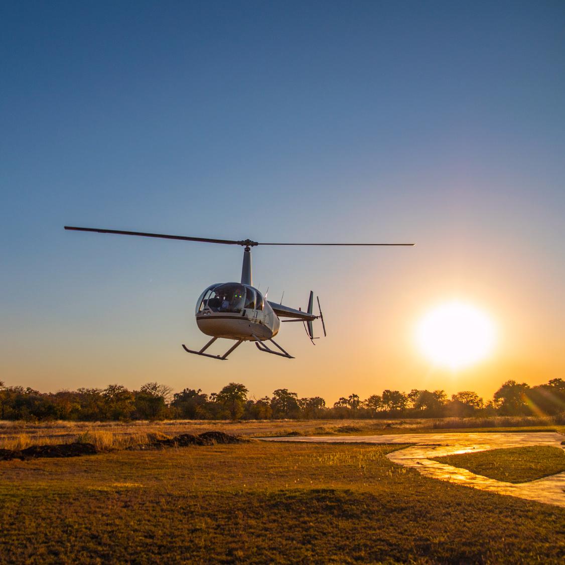 Privat helikoptertur i Sydjylland med Sima Helikopter