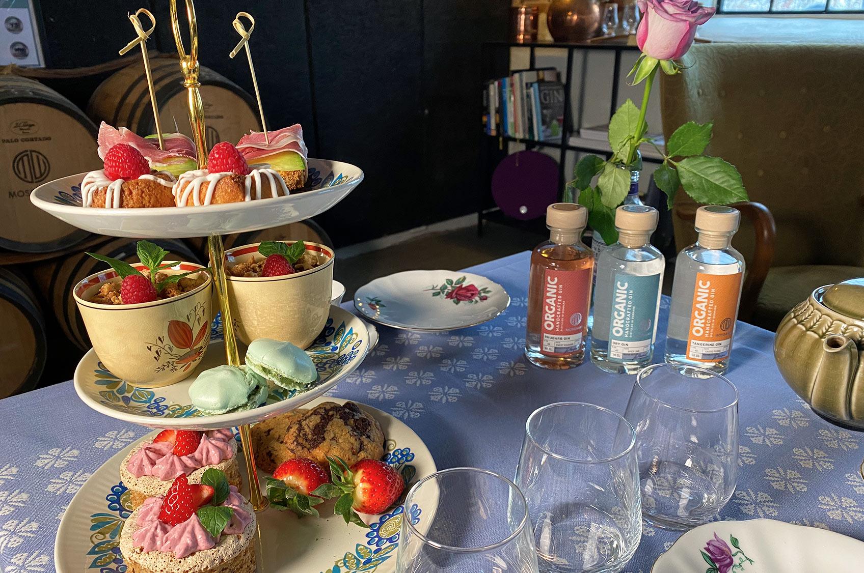 Afternoon Tea & ginsmagning hos Mosgaard Whisky