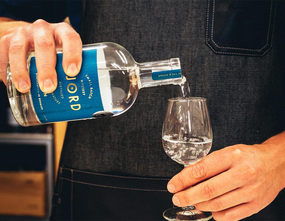 Ginsmagning på Njord Gin Distillery