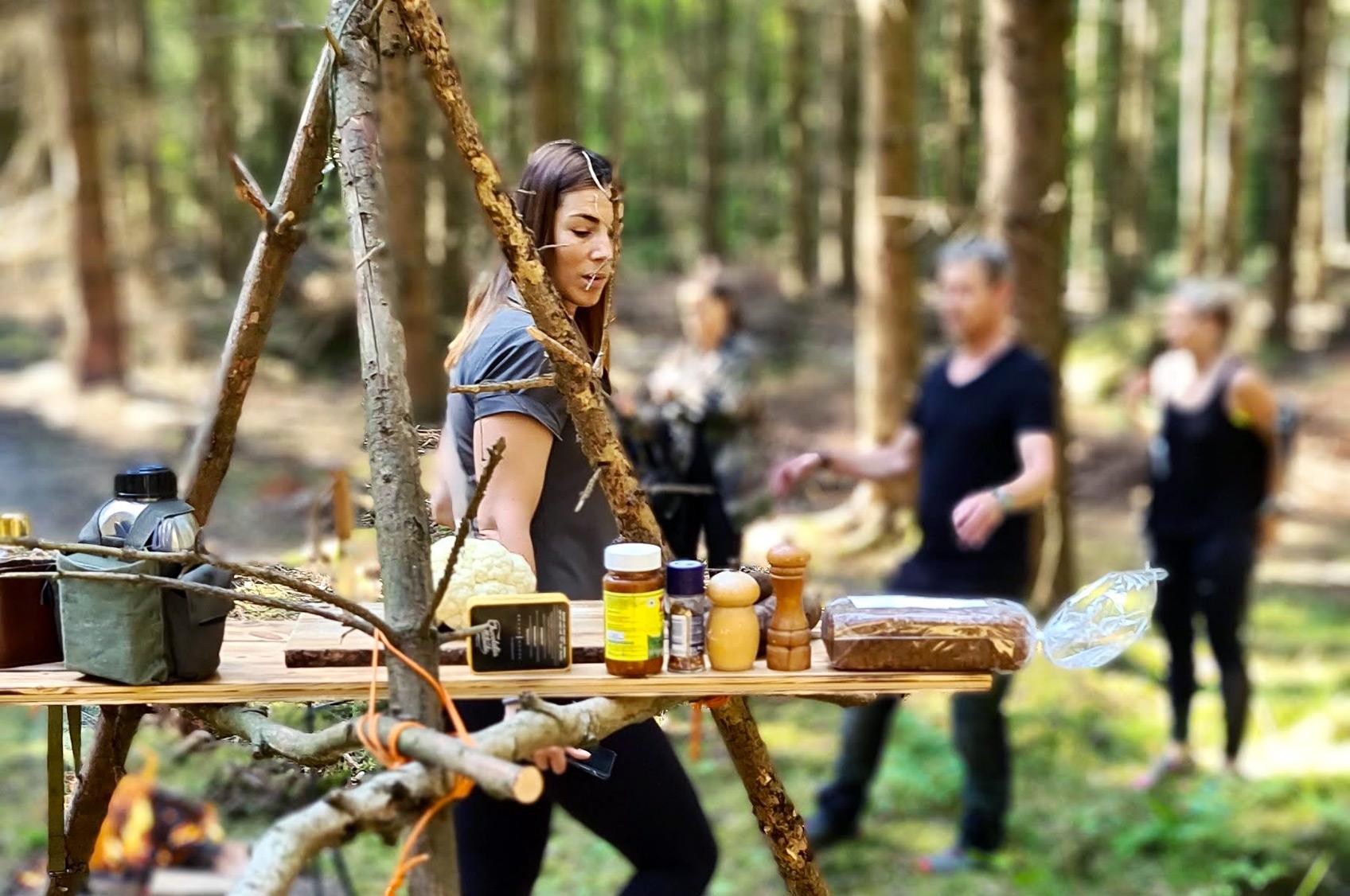 Vildmarkslunch med Fremus in the Woods