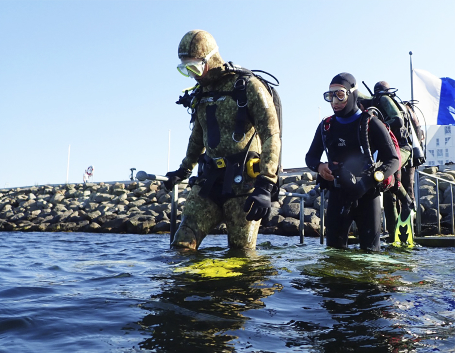 Prøve-dyk i havet med Dykker-Butikken