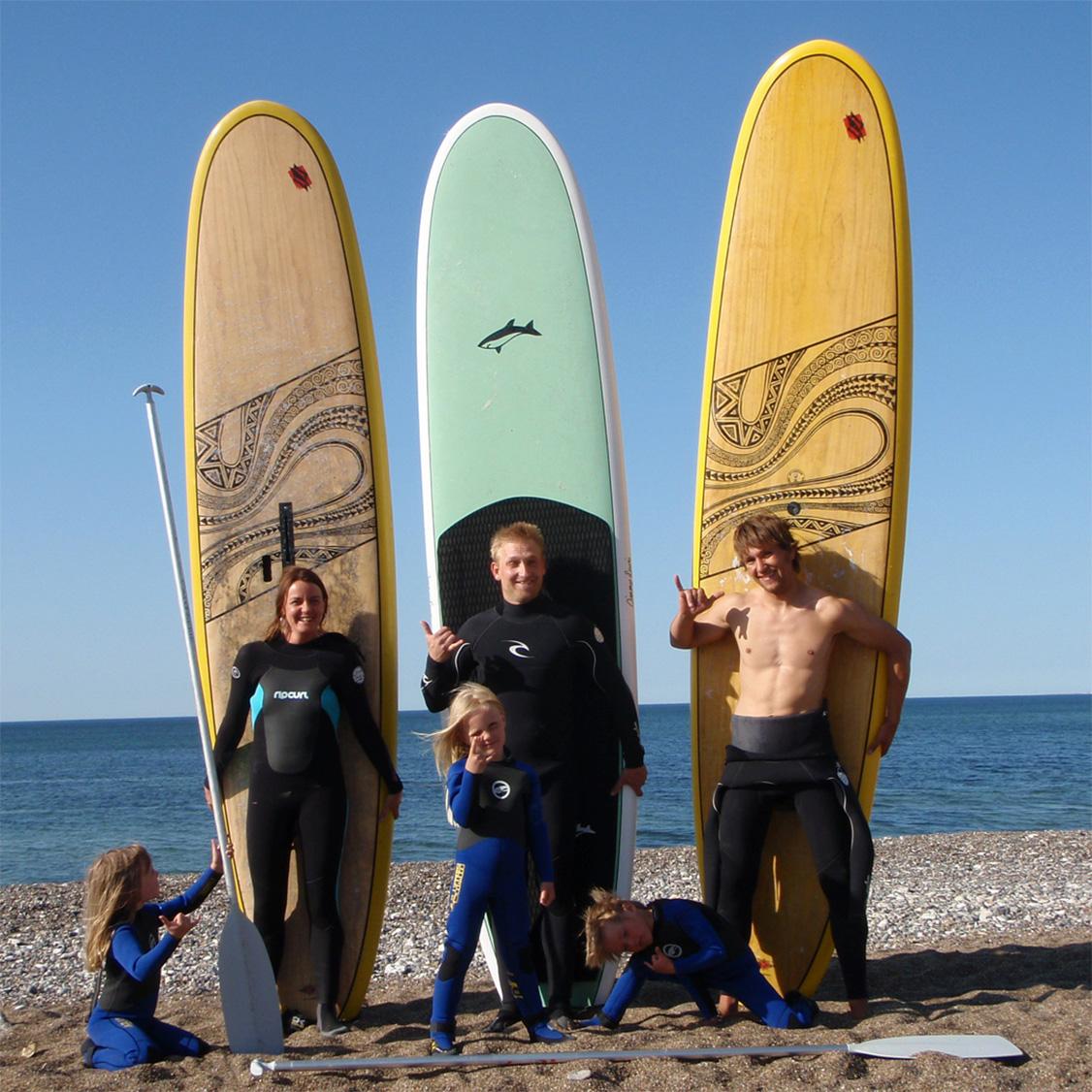 Prøv SUP-surfing i Cold Hawaii