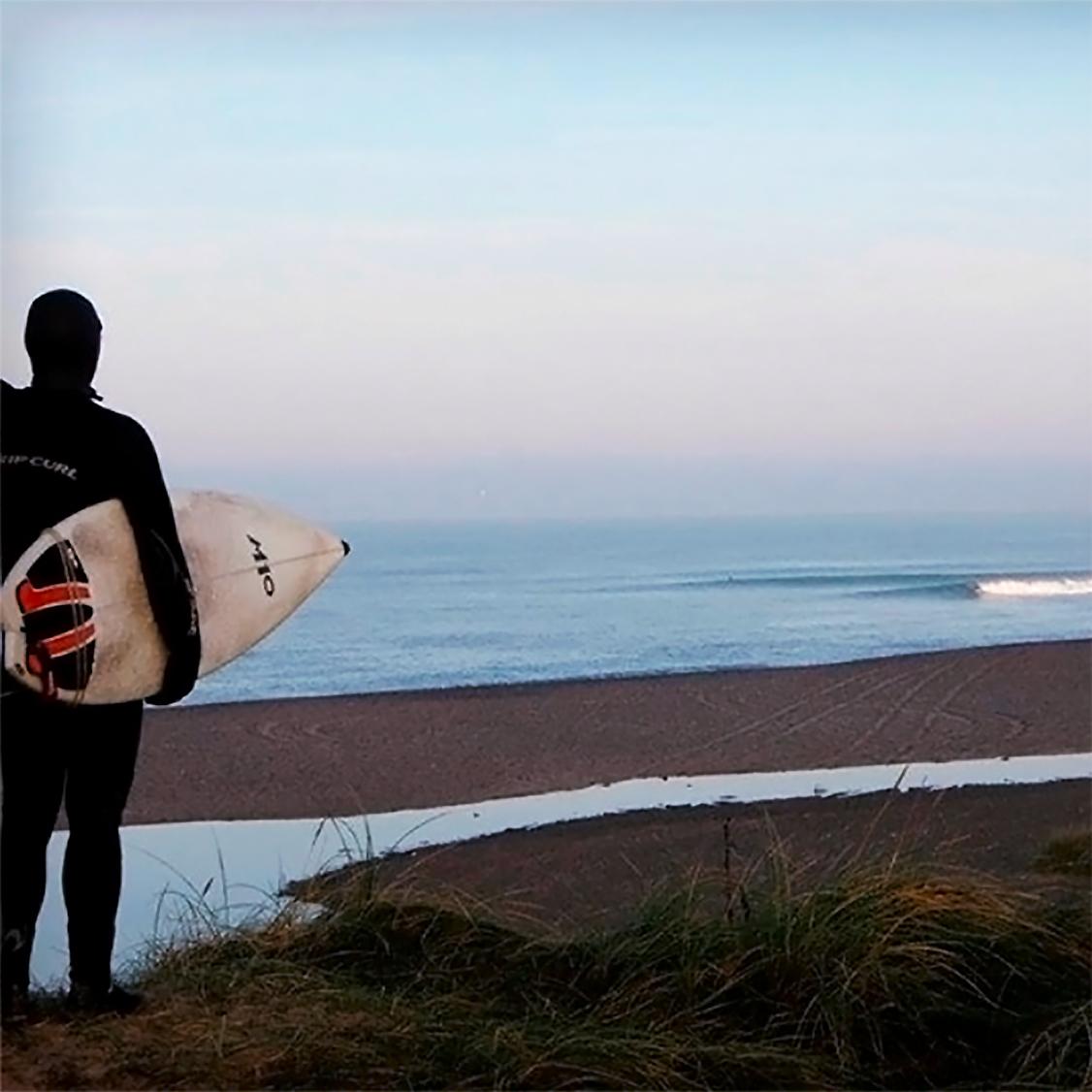 Prøv Surfing i Cold Hawaii