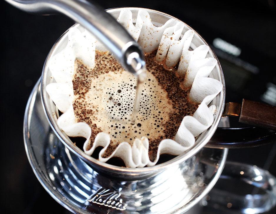 Sort kaffekursus hos Coffee Collective