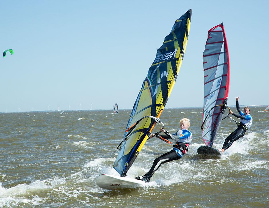 Windsurfing i Klitmøller