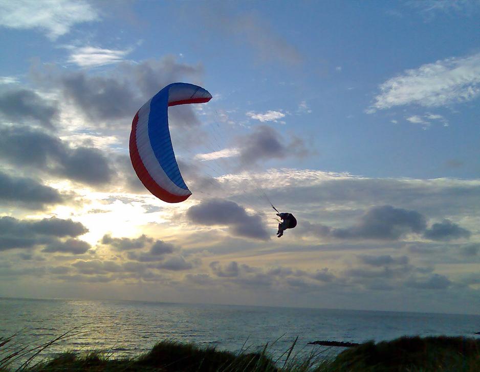 Prøv Tandem Paragliding