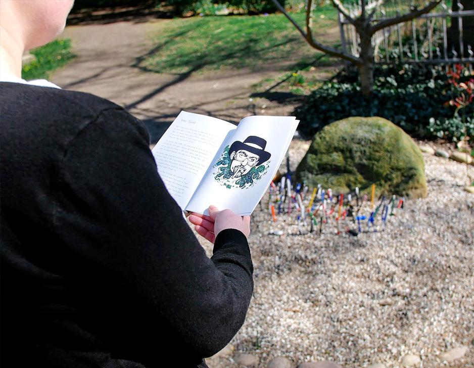 Puzzle walk på Assistens Kirkegård