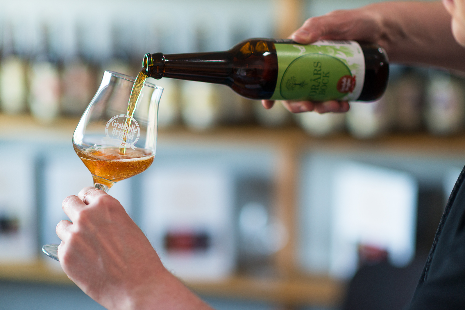 Ølsmagning og rundvisning hos Grauballe Bryghus