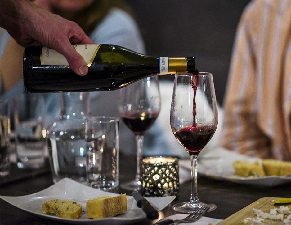 Vin- & ostesmagning i København hos O.M. Nielsen
