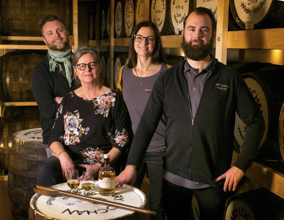 Rundvisning & Whiskysmagning hos Fary Lochan